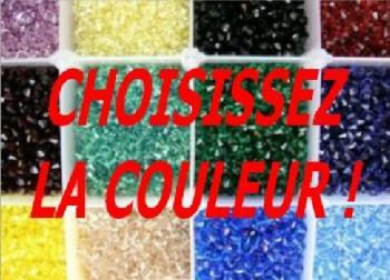 50 perles toupies en cristal de Swarovski 5301 Padparadscha Satin 4 mm