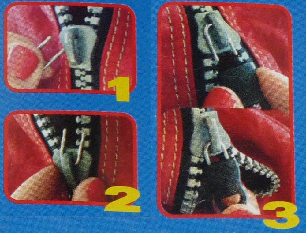 kit de r paration pour fermeture clair zipper repair kit. Black Bedroom Furniture Sets. Home Design Ideas