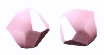 Toupies Swarovski 4mm ROSE ALABASTER SATIN / 20 perles  *PROMO*